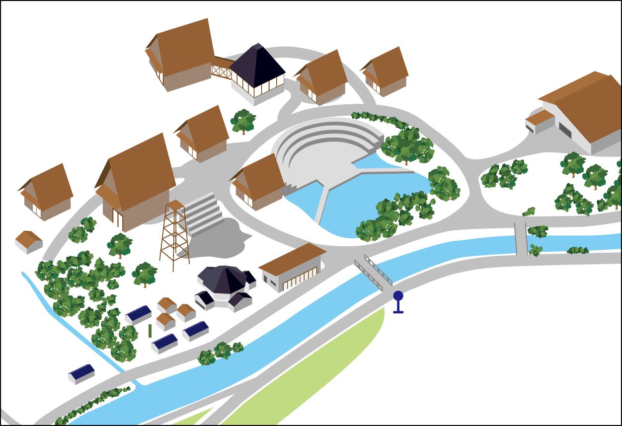 富山県利賀芸術公園 WEBサイト / ツールデザイン
