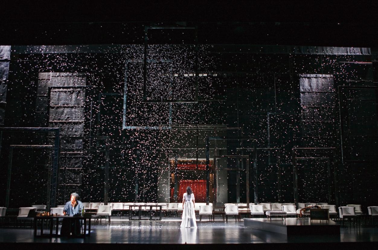椿姫 舞台装置デザイン